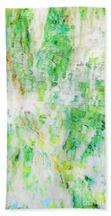 Water Colored  Beach Towel
