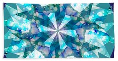 Water Kaleidoscope Beach Towel