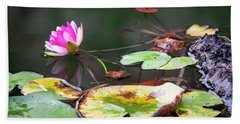 Water Lily #1 Beach Towel