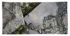 Beach Towel featuring the photograph Water On The Rocks 2 by Juan Contreras