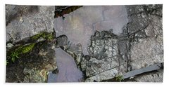 Beach Towel featuring the photograph Water On The Rocks 3 by Juan Contreras