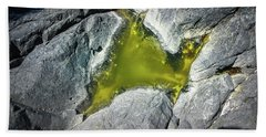 Beach Towel featuring the photograph Water On The Rocks 5 by Juan Contreras