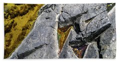 Beach Towel featuring the photograph Water On The Rocks 8 by Juan Contreras