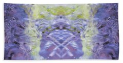 Water Ripples The Grass Beach Towel
