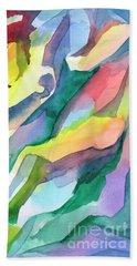 Watercolor Mosaic Beach Sheet