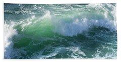 Wave At Montana De Oro Beach Towel