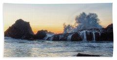 Wave Burst Beach Towel