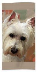 West Highland Terrier Beach Sheet