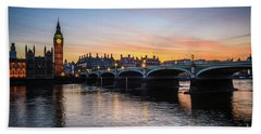 Westminster Sunset Beach Towel