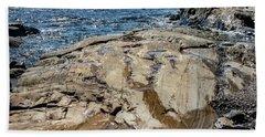 Wet Rocks Beach Towel