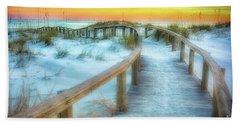 Where The Path Leads Beach Towel