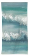 Whispering Waves Beach Towel