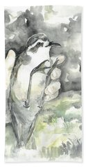 White-faced Storm-petrel Beach Towel