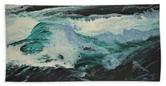 Whitewater Beach Towel