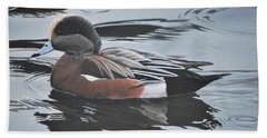 Wigeon Drake Beach Towel
