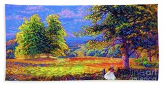 Wildflower Fields Beach Towel