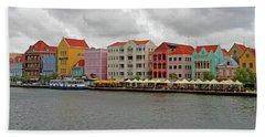 Willemstad, Curacao Beach Towel