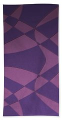 Wings And Sails - Purple And Pink Beach Towel