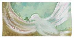 Wings Of Peace Beach Sheet