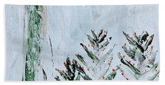 Winter Angel Beach Sheet