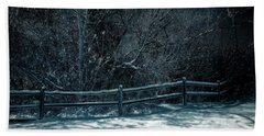 Winter Arrived Beach Towel