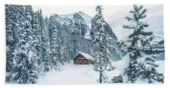 Winter Comes When You Dream Of Snow Beach Towel