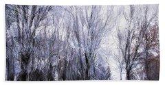 Winter Lace Beach Sheet