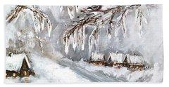 Winter Beach Sheet