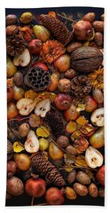 Winter Season Beach Towel