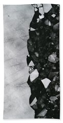 Winters Edge - Aerial Photography Beach Towel