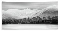 Winterscape Vancouver Beach Sheet