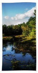 Wisconsin Waterscape Beach Towel