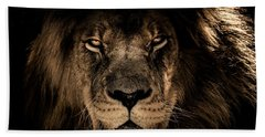Wise Lion Beach Towel