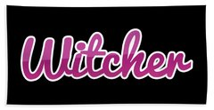 Witcher #witcher Beach Towel