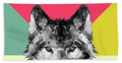 Wolf Beach Towel