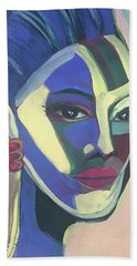 Woman Of Color Beach Towel
