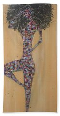 Woman Of Color IIi Beach Towel