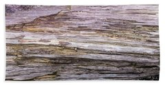 Beach Towel featuring the photograph Wood Log In Nature No.28 by Juan Contreras
