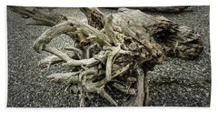 Beach Towel featuring the photograph Wood Log In Nature No.34 by Juan Contreras