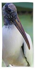 Wood Stork 40312 Beach Towel