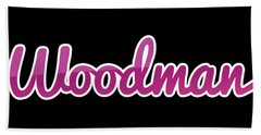 Woodman #woodman Beach Towel