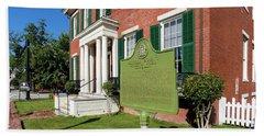 Woodrow Wilson Boyhood Home - Augusta Ga 1 Beach Towel
