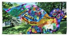 Woodstock Dove 9 Beach Towel
