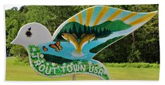 Woodstock Dove Beach Towel
