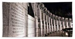 World War II Memorial Beach Sheet