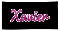 Xavier #xavier Beach Towel