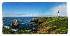 Yaquina Head Lighthouse Beach Sheet