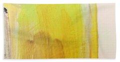 Yellow #3 Beach Towel