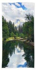Yosemite Classical View Beach Towel