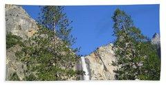 Yosemite National Park Bridal Veil Falls Twin Trees View Beach Sheet